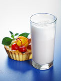 Milk shake Stock Image