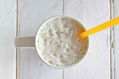 Milk shake banana Stock Photography