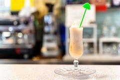 Milk shake bebido no gelado siciliano fotos de stock royalty free