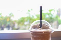 Milk-shake de café images stock