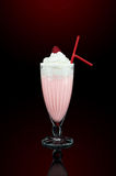 Milk shake with decoration Stock Photography