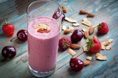 Milk shake do batido Imagem de Stock Royalty Free