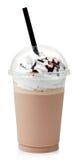 Milk shake do chocolate imagens de stock