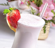 Milk shake Royalty Free Stock Photo