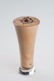Milk-shake glacé de chocolat Image libre de droits