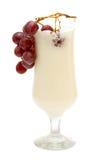 Milk shake isolated on white background Stock Photo