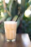 Milk shake na tabela Foto de Stock Royalty Free