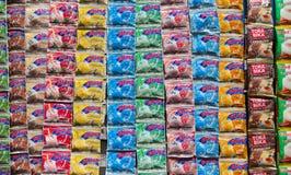 Milk shake powder Stock Image