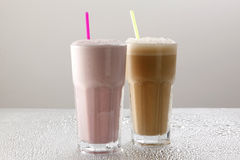 Milk Shakes Stock Photo
