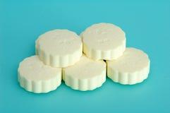 Milk slice Stock Photography