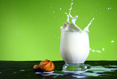 Free Milk Splash Stock Image - 11128861