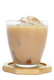 Milk tea with ice Royalty Free Stock Photography