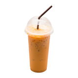 Milk tea isolated Stock Image