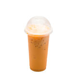 Milk tea isolated Royalty Free Stock Photography