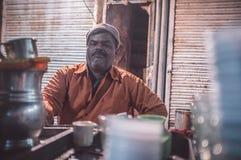 Milk tea vendor Royalty Free Stock Image