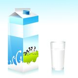 Milk Tetra Pak Stock Photo