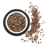 Milk Thistle Seeds Royalty Free Stock Photography