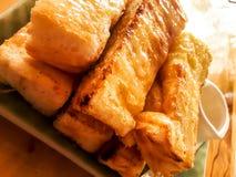 The milk toast Stock Image