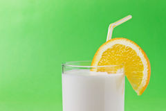 Milk vitamin drink Stock Photo