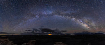 Free Milk Way Panorama. Royalty Free Stock Photos - 91476278