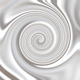 Milk ,Whipped or White Yoghurt Cream Swirly royalty free stock image