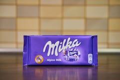 Milka czekolada obrazy stock