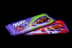 Milka czekolada obrazy royalty free