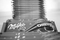 Milka Oreo Fotos de Stock