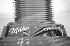 Milka Oreo Stock Photos