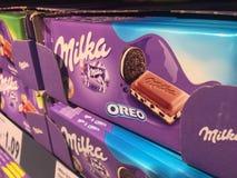 Milka Oreo czekolada zdjęcie royalty free