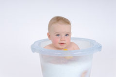 Milkbath Royalty Free Stock Image