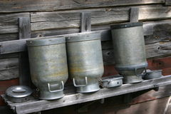 Milkcan Photo stock