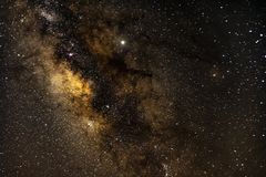 Milkeyway Galaxy royalty free stock photos
