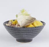 Milkifish Congee Stock Image