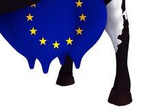 Milking the EU Stock Image