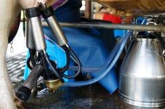 Milking machine royalty free stock image