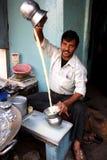 Milkman from India Stock Photo