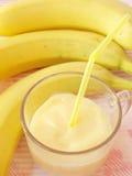 milkshake банана стоковая фотография