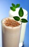 milkshake шоколада Стоковая Фотография RF