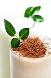 milkshake шоколада Стоковое Изображение
