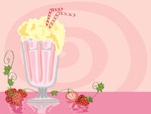 Milkshake Royalty Free Stock Photos