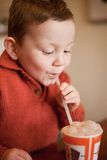 Milkshake Bubbles Royalty Free Stock Photos