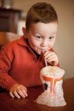 Milkshake Bubbles Stock Photos