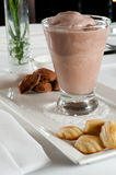 Milkshake and cookies Royalty Free Stock Image