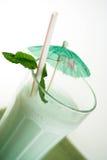 Milkshake da hortelã Fotos de Stock