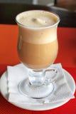 Milkshake de café Photos libres de droits