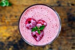 Milkshake de framboise Image stock