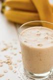Milkshake de la harina de avena Foto de archivo