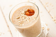 Milkshake de la harina de avena Imagen de archivo