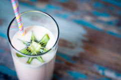Milkshake de Smoothie Photographie stock libre de droits